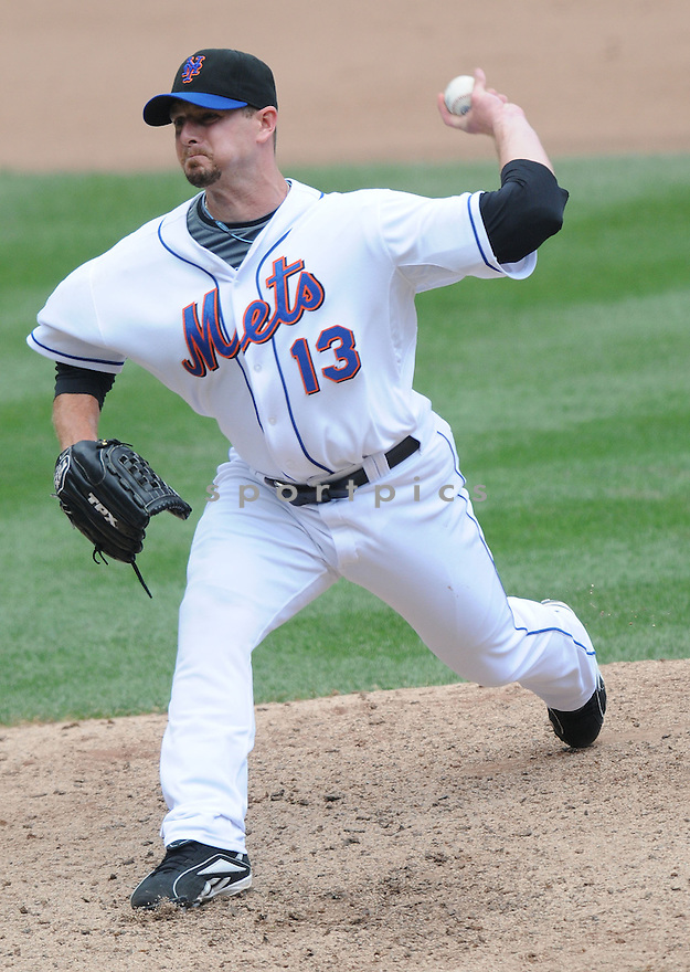 BILLY WAGNER, of the New York Metsin action against the Philadelphia Phillies during the Mets game in New York, New York on July 24,  2008... The Mets won the game 3-1