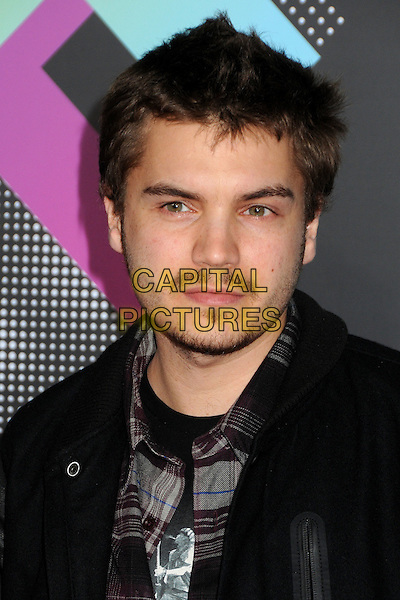 EMILE HIRSCH.The T-Mobile Sidekick 4G Launch Party held at a private lot in Beverly Hills, California, USA..April 20th 2011.headshot portrait stubble facial hair moustache mustache .CAP/ADM/BP.©Byron Purvis/AdMedia/Capital Pictures.