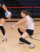 Long Island University Women's Volleyball during the NEC (Northeastern Conference) championship11 18 2007