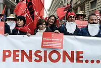Roma, 2 Dicembre 2017<br /> Manifestazione della CGIL per Pensioni e Lavoro