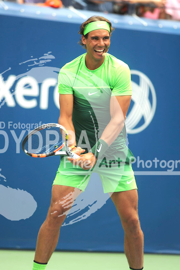 Rafael Nadal attending Arthur Ashe Kids Day 2015 at the US Open at USTA Billie Jean King National Tennis Center on August 29, 2015 in New York City