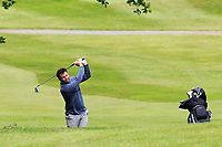 Gerard Dunne (Co.Louth) on the 1st fairway during Round 4 of the Connacht Stroke Play Championship 2019 at Portumna Golf Club, Portumna, Co. Galway, Ireland. 09/06/19<br /> <br /> Picture: Thos Caffrey / Golffile<br /> <br /> All photos usage must carry mandatory copyright credit (© Golffile | Thos Caffrey)