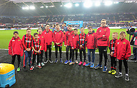 Cildrenl during the Barclays Premier League match between Swansea City and West Bromwich Albion played at the Liberty Stadium, Swansea on December 26 2015