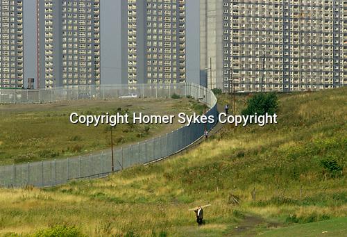 Blackhill estate Glasgow Scotland UK. 1980s.