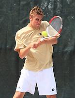 Men's Div. I NCAA Tennis championships, 1st Round