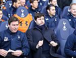 Tottenham's Mauricio Pochettino looks on during the Premier League match at White Hart Lane Stadium.  Photo credit should read: David Klein/Sportimage