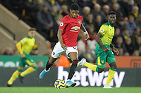 Marcus Rashford of Manchester United during the Premier League match between Norwich City and Manchester United at Carrow Road on October 27th 2019 in Norwich, England. (Photo by Matt Bradshaw/phcimages.com)<br /> Foto PHC/Insidefoto <br /> ITALY ONLY