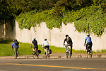 Commuter Bicyclists in NE Portland, Oregon