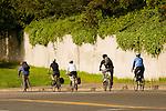Commuter Bicyclists in NE Portland, Oregon
