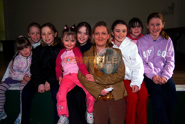 Karen Walsh with her Kids Group...Pic Tony Campbell/Newsfile