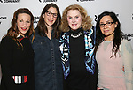 Lili Taylor, Anne Kauffman, Celia Weston and Janeane Garofalo attends the cast photo call for the Roundabout Theatre Company's production of 'Marvin's Room'  at American Airlines Theatre on May 11, 2017 in New York City.