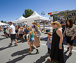 A photograph taken during the Mural Marathon on Sunday July1, 2018 in downtown Reno.
