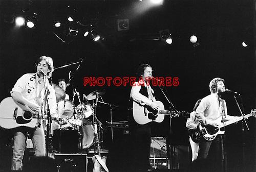 McGuinn Clak Hillman 1979 Gene Clark, Roger McGuinn and Chris Hillman.© Chris Walter.