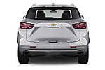 Straight rear view of 2020 Chevrolet Blazer Premier 5 Door SUV Rear View  stock images