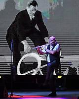 BOCA RATON - NOVEMBER 10: Jethro Tull perform at the Mizner Park Amphitheatre on November 10, 2017 in Boca Raton, Florida. <br /> CAP/MPI04<br /> &copy;MPI04/Capital Pictures