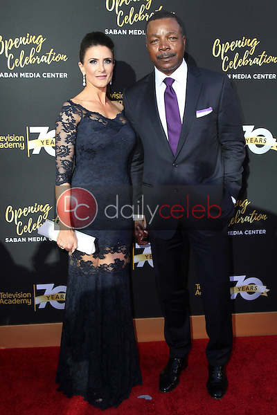 Christine Kludjian, Carl Weathers<br />