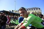 Ryan Mullen (IRL) Cannondale-Drapac at sign on for the 115th edition of the Paris-Roubaix 2017 race running 257km Compiegne to Roubaix, France. 9th April 2017.<br /> Picture: Eoin Clarke | Cyclefile<br /> <br /> <br /> All photos usage must carry mandatory copyright credit (&copy; Cyclefile | Eoin Clarke)