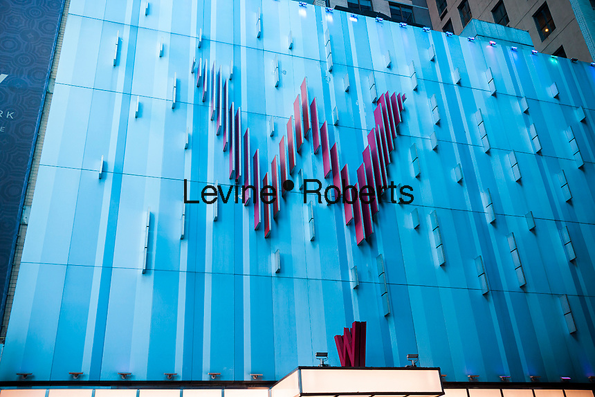 The W Hotel in Times Square on Tuesday, September 6, 2016.  (© Richard B. Levine)
