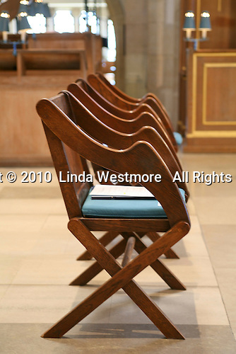 Chairs at Guildford Cathedral.