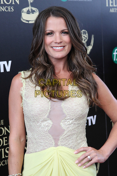 BEVERLY HILLS, CA - JUNE 22: Melissa Claire Egan attending The 41st Annual Daytime Emmy Awards held at The Beverly Hilton Hotel in Beverly Hills, California on June 22nd, 2014. <br /> CAP/MPI/RTNUPA<br /> &copy;RTNUPA/MPI/Capital Pictures