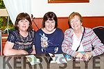 Sheila Costello, Ann Sheehan and Connie Sheehan at the bingo in aid of the Killorglin Community Alert in the Manor Inn on Friday night