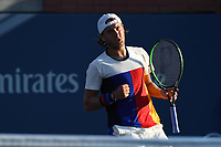 Lucas Pouille (Fra)<br /> Flushing Meadows 30/08/2017<br /> Tennis US Open 2017 <br /> Foto Couvercelle/Panoramic/Insidefoto