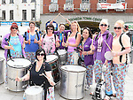 The Samba Mamas. Photo:Colin Bell/pressphotos.ie