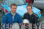 NEED FOR SPEED: John O'Flaherty (right), Ardfert won a drive with Owen Duffin from Tralee in the Kerry Motor club's Rallysprint held at Tralee race course in Ballybeggan last Saturday.