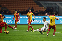 Lautaro Martinez of Internazionale scores for his side <br /> Milano 13-1-2019 Stadio Giuseppe Meazza <br /> Football Italy Cup 2018/2019 Inter - Benevento 6-2 <br /> Foto Image Sport  / Insidefoto
