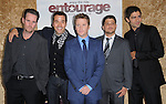 Actors Kevin Dillon, Jeremy Piven,Kevin Connolly, Jerry Ferrara &  Adrian Grenier  at the HBP Premiere of The 7th Season of Entourage held at Paramount Picture Studios in Hollywood, California on June 16,2010                                                                               © 2010 Debbie VanStory / Hollywood Press Agency