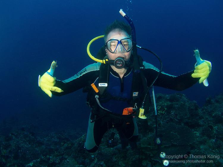 Da Xia Gu ('Grand Canyon'), Green Island -- Dive buddy.