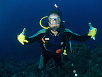 Da Xia Gu ('Grand Canyon'), Green Island -- Dive buddy.