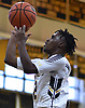 Jevon Burke #2 of St. Anthony's pus up a shot during a non-league boys basketball game against St. Joseph (Metuchen, NJ) iat St. Anthony's High School in South Huntington on Saturday, Dec. 29, 2018. St. Joseph won by a score of 58-55.