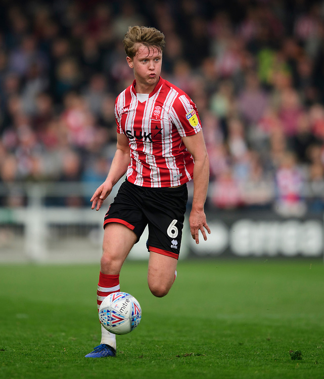 Lincoln City's Mark O'Hara<br /> <br /> Photographer Chris Vaughan/CameraSport<br /> <br /> The EFL Sky Bet League Two - Lincoln City v Macclesfield Town - Saturday 30th March 2019 - Sincil Bank - Lincoln<br /> <br /> World Copyright © 2019 CameraSport. All rights reserved. 43 Linden Ave. Countesthorpe. Leicester. England. LE8 5PG - Tel: +44 (0) 116 277 4147 - admin@camerasport.com - www.camerasport.com