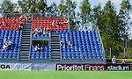 Tyres&ouml; 2014-05-25 Fotboll Damallsvenskan Tyres&ouml; FF - FC Roseng&aring;rd :  <br /> Del av l&auml;ktare p&aring; Tyres&ouml;vallen med tomma stolar runt publik<br /> (Foto: Kenta J&ouml;nsson) Nyckelord:  Damallsvenskan Tyres&ouml;vallen Tyres&ouml; TFF FC Roseng&aring;rd FCR Malm&ouml; supporter fans publik supporters utomhus exteri&ouml;r exterior