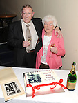 Tommy and Philomena Martin celebrating their 50th wedding anniversary in the Boyne Valley hotel. Photo: Colin Bell/pressphotos.ie