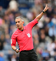 Referee Darren Bond<br /> <br /> Photographer Chris Vaughan/CameraSport<br /> <br /> The EFL Sky Bet Championship - Preston North End v Reading - Saturday 15th September 2018 - Deepdale - Preston<br /> <br /> World Copyright &copy; 2018 CameraSport. All rights reserved. 43 Linden Ave. Countesthorpe. Leicester. England. LE8 5PG - Tel: +44 (0) 116 277 4147 - admin@camerasport.com - www.camerasport.com
