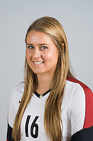 STANFORD, CA - AUGUST 13, 2013 - Brittany Howard of the Stanford Women's Volleyball team.