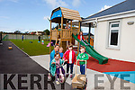 Paula Stack, Emma Stack, Sharon Murphy, Eoin Stack, Alannah Stack, Clara Dean and Bobby McElligott  at Buds Childcare and family resource centre Ballyduff show off their new children's play area on Monday