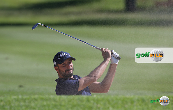 Francesco Laporta (ITA)  out of the fairway bunker on the 6th during Round One of the 2016 Tshwane Open, played at the Pretoria Country Club, Waterkloof, Pretoria, South Africa.  11/02/2016. Picture: Golffile | David Lloyd<br /> <br /> All photos usage must carry mandatory copyright credit (&copy; Golffile | David Lloyd)