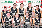 St. Pauls who defeated St Marys in the Regional Ladies Final at the St Marys Christmas Basketball Blitz which was held in the Castleisland Community Centre on Saturday front row L/R: Muiriosa Galway, Marion OCallaghan, Lynn Jones, Cassandra Buckley, Back Row: L/R: Mages Cronin, Catriona OConnell, Orla Kavanagh, Carolyn OMahony, and Emir Buckley..