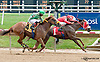 Graeme's Song winning  at Delaware Park racetrack on 7/7/14