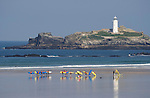 Surf School at Godrevy, Cornwall