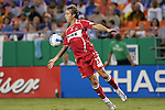 Aug 22 2007:  Justin Mapp (21) of the Fire.  The MLS Kansas City Wizards defeated the visiting Chicago Fire 3-2 at Arrowhead Stadium in Kansas City, Missouri, in a regular season league soccer match.