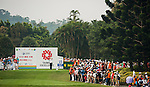 TAOYUAN, TAIWAN - OCTOBER 27:  Suzann Pettersen of Norway tees off on the 15th hole during the day three of the Sunrise LPGA Taiwan Championship at the Sunrise Golf Course on October 27, 2012 in Taoyuan, Taiwan.  Photo by Victor Fraile / The Power of Sport Images