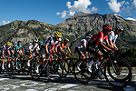 The peloton including Nairo Quintana (COL) Arkea-Samsic, Richie Porte (AUS) Trek-Segafredo and Nicolas Roche (IRL) Team Sunweb during Stage 4 of Tour de France 2020, running 160.5km from Sisteron to Orcieres-Merlette, France. 1st September 2020.<br /> Picture: ASO/Pauline Ballet | Cyclefile<br /> All photos usage must carry mandatory copyright credit (© Cyclefile | ASO/Pauline Ballet)