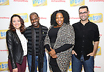Laurel Harris, Arbender Robinson, Aurelia Williams and Adam Bashian attend the photo Call for 'InTransit' at The New 42nd Street Studios on October 27, 2016 in New York City.