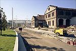 La trasformazione della Città in vista delle Olimpiadi 2006. Corso Castelfidardo.