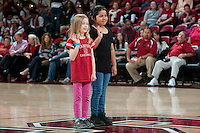 STANFORD, CA--PAC-12 conference play against Utah  at Maples Pavilion. The Cardinal won the matchup against the Utes 69-42.