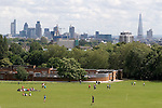 Parliament Hill Fields north London Skyline